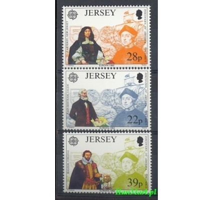 Jersey 1992 Mi 574-576 Czyste **