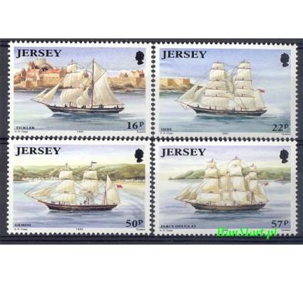Jersey 1992 Mi 577-580 Czyste **