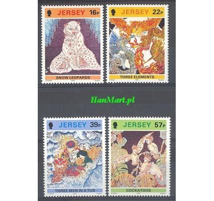 Jersey 1992 Mi 581-584 Czyste **