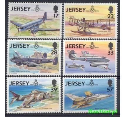 Jersey 1993 Mi 615-620 Czyste **