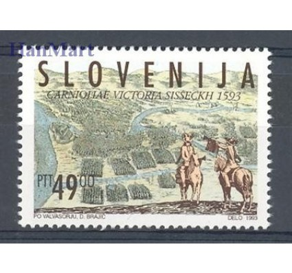 Znaczek Słowenia 1993 Mi 59 Czyste **