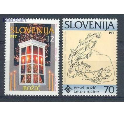 Znaczek Słowenia 1994 Mi 99-100 Czyste **