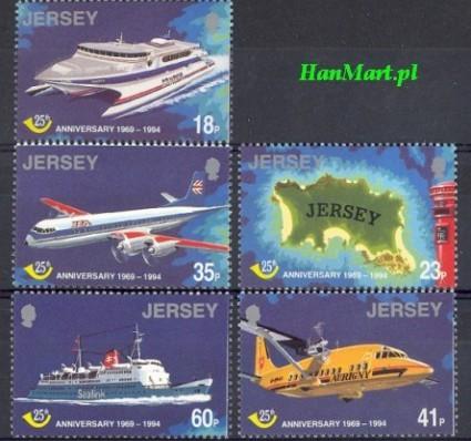 Jersey 1994 Mi 669-673 Czyste **
