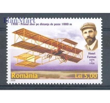 Znaczek Rumunia 2008 Mi 6268 Czyste **