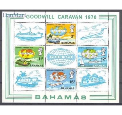 Znaczek Bahamy 1970 Mi bl 2 Czyste **