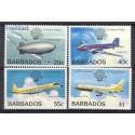 Barbados 1983 Mi 583-586 Czyste **