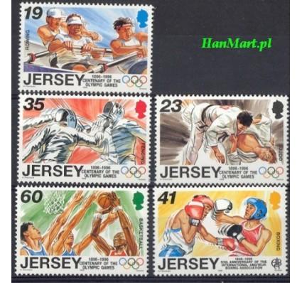 Jersey 1996 Mi 742-746 Czyste **