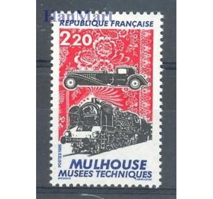Znaczek Francja 1986 Mi 2583 Czyste **