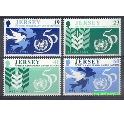 Znaczek Jersey 1995 Mi 719-722 Czyste **