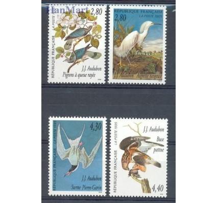 Znaczek Francja 1995 Mi 3072-3075A Czyste **