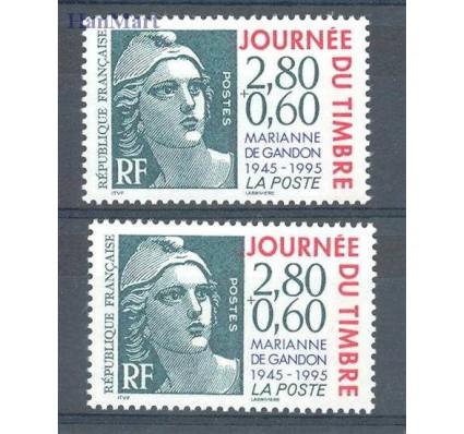 Znaczek Francja 1995 Mi 3076-3077 Czyste **