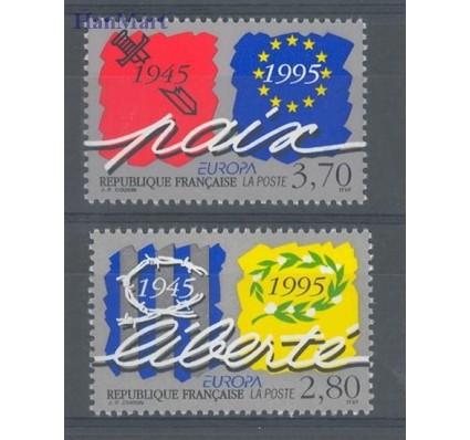 Znaczek Francja 1995 Mi 3084-3085 Czyste **