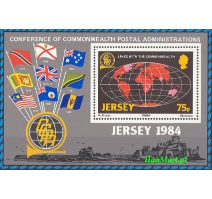 Jersey 1984 Mi bl 3 Czyste **