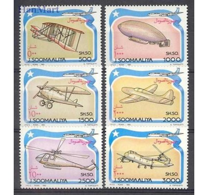 Znaczek Somalia 1993 Mi 485-490 Czyste **