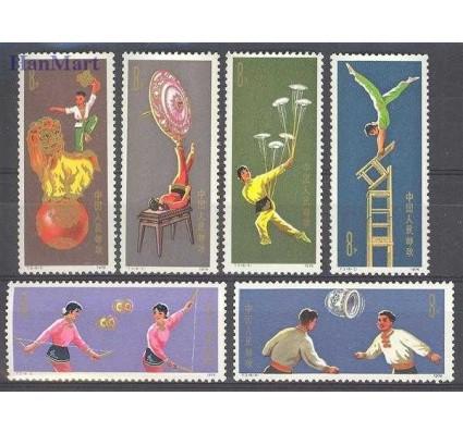 Znaczek Chiny 1974 Mi 1168-1173 Czyste **