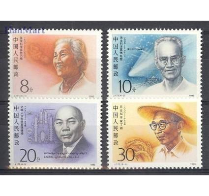 Znaczek Chiny 1990 Mi 2327-2330 Czyste **