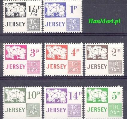 Jersey 1971 Mi por 7-14 Czyste **