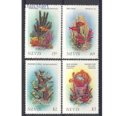 Znaczek Nevis 1986 Mi 410-413 Czyste **