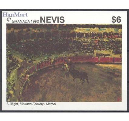Znaczek Nevis 1992 Mi bl 47 Czyste **