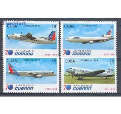 Znaczek Kuba 1999 Mi 4238-4241 Czyste **