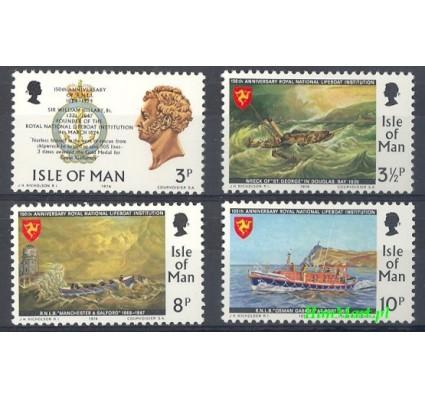Wyspa Man 1974 Mi 36-39 Czyste **