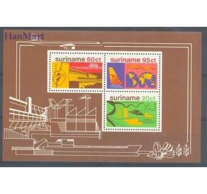 Znaczek Surinam 1978 Mi bl 21 Czyste **