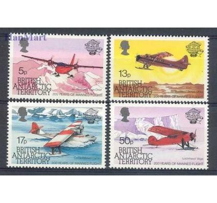 Znaczek Brytyjskie Terytorium Antarktyczne 1983 Mi 104-107 Czyste **