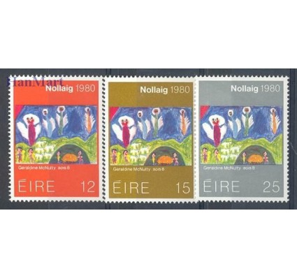 Znaczek Irlandia 1980 Mi 430-432 Czyste **
