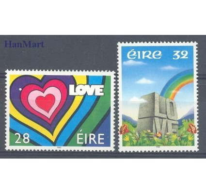 Znaczek Irlandia 1992 Mi 780-781 Czyste **