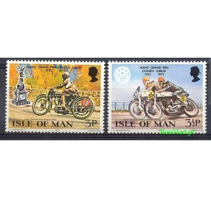Wyspa Man 1973 Mi 33-34 Czyste **