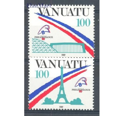 Znaczek Vanuatu 1989 Mi 818-819 Czyste **