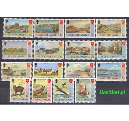 Wyspa Man 1973 Mi 12-27 Czyste **