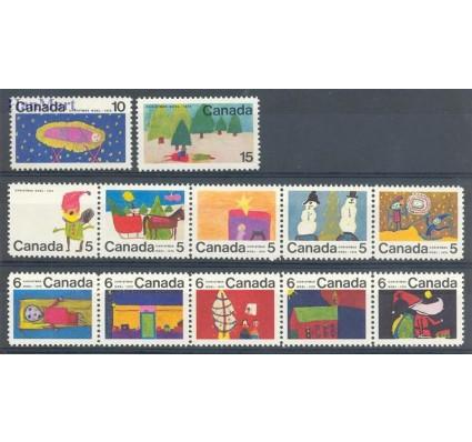 Znaczek Kanada 1970 Mi 462-473 Czyste **
