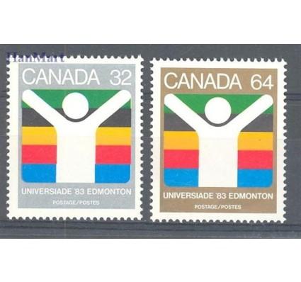 Znaczek Kanada 1983 Mi 875-876 Czyste **