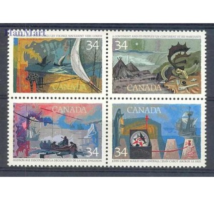 Znaczek Kanada 1986 Mi 1004-1007 Czyste **