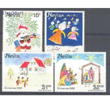 Znaczek Nevis 1982 Mi 80-83 Czyste **