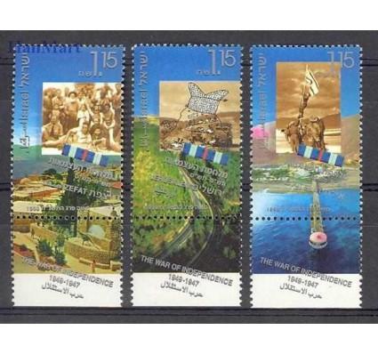 Znaczek Izrael 1998 Mi 1452-1454I Czyste **
