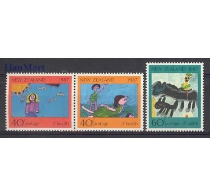 Znaczek Nowa Zelandia 1987 Mi 1000-1002 Czyste **