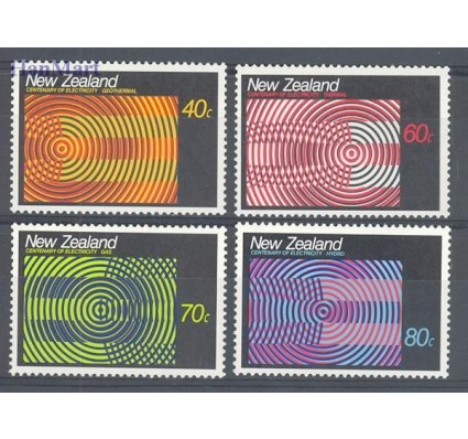 Znaczek Nowa Zelandia 1988 Mi 1010-1013 Czyste **
