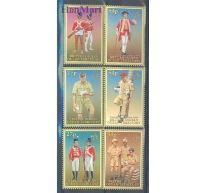 Znaczek Brytyjskie Terytorium Oceanu Indyjskiego 2008 Mi 451-456 Czyste **