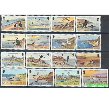 Znaczek Wyspa Man 1983 Mi 220-235 Czyste **