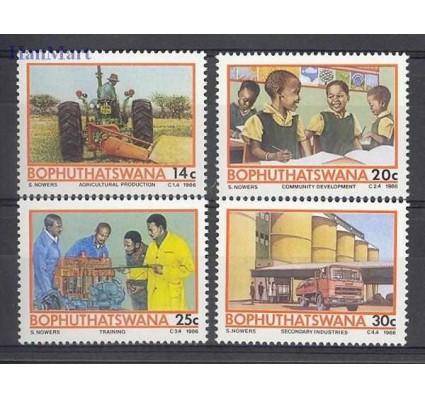 Znaczek Bophuthatswana 1986 Mi 173-176 Czyste **