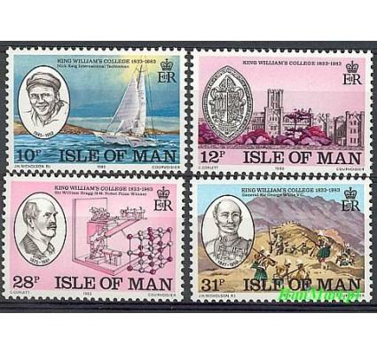 Wyspa Man 1983 Mi 242-245 Czyste **
