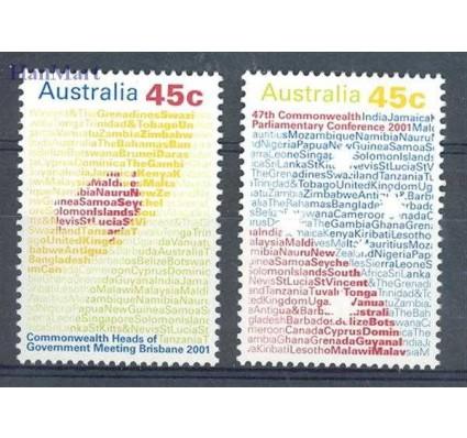 Znaczek Australia 2001 Mi 2076-2077 Czyste **