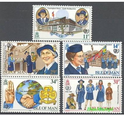 Znaczek Wyspa Man 1985 Mi 272-276 Czyste **