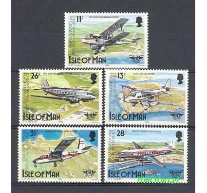 Znaczek Wyspa Man 1984 Mi 256-260 Czyste **