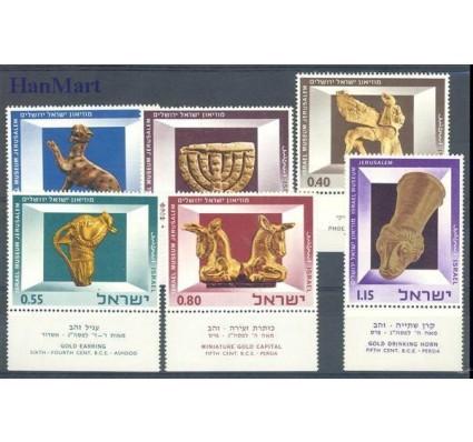 Znaczek Izrael 1966 Mi 371-376 Z podlepką *