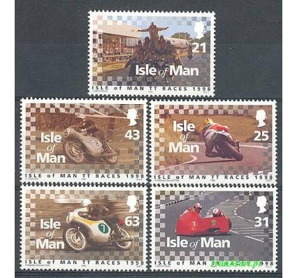 Wyspa Man 1998 Mi 769-773 Czyste **