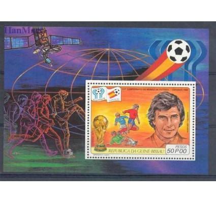 Znaczek Gwinea Bissau 1981 Mi bl 180 Czyste **
