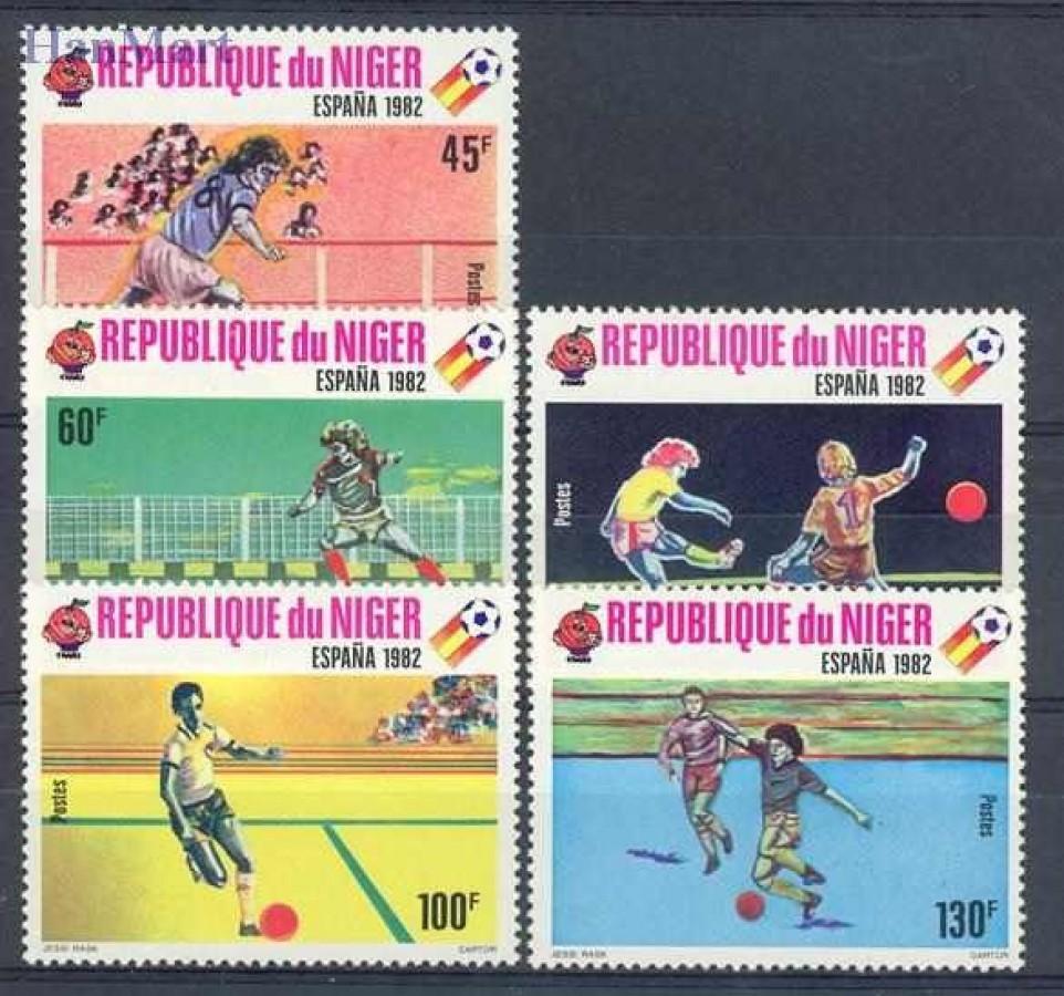 Niger 1980 Mi 719-723 Czyste **